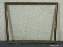 7832 Régi aranyozott vágható képkeret 40 x 49 cm