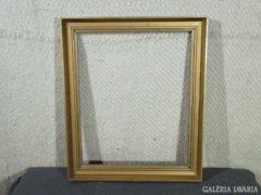 7836 Régi aranyozott vágható képkeret 38 x 47 cm