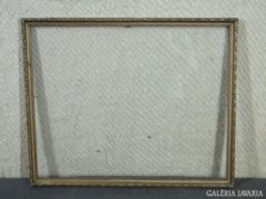 7843 Régi vágható aranyozott képkeret 40 x 50 cm