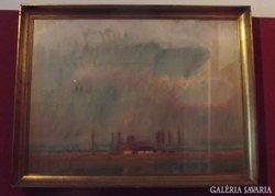 Képcsarnokos festmény Moldován István (1911 - )