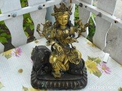 Sárgaréz indiai szobor (27cm) Alkudható!