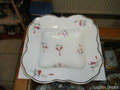 Csehszlovák porcelán tál