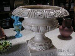 Zsolnay nagyméretű  porcelán kaspó