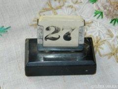 Antik márvány naptár tartó dolgozószobába...