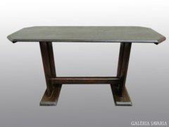 8018 Antik fenyő konyhai asztal étkező asztal