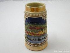 7969 Régi söröskupa söröskorsó krigli HEIDELBERG