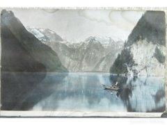 8276 Óriási méretű antik német levelezőlap 1907