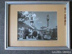 Sopron  jelzett fotó Diebold Károlytól