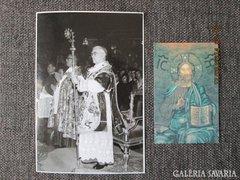 Lékai bíboros és Szendi püspök dedikált emlékek