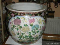 Kínai porcelán kaspó