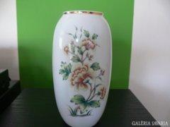 Hollóházi hortenzia mintás váza