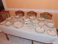 Zsolnay bővített Ősz étkészlet