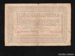 1 lengyel márka 2. kiadás1919 Ritka