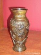Keleti bronz váza