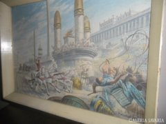 Koszkol Jenő festmény !!!!! Eredeti és gyönyörű !
