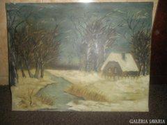 Téli tájkép ( Adomcsa 1971 )