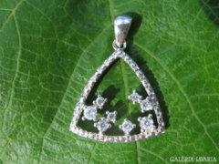 CSILLAGOS ÉGBOLT cirkonköves 925-ös ezüstmedál