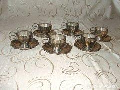 AKCIÓ!!! Antik ezüst kávéscsésze