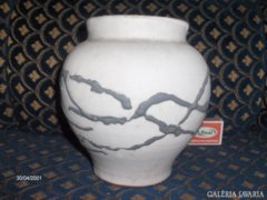 Kerámia váza - 17 cm magas