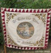 Hatalmas régi háborús béke bajtársi zászló
