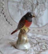 Kerámia iparművész KSZ vörösbegy madárka