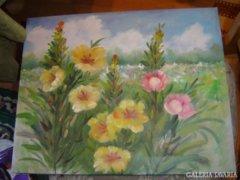 Virág csendélet festmény