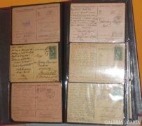 Tábori levelezőlap 40-es évekből 130 darab