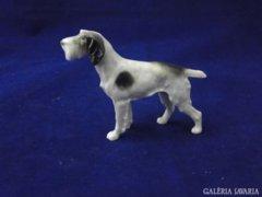 8489 Régi Metzler - Ortloff porcelán kutya