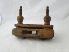 8878 Antik asztalos szerszám gyalu