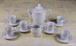 Kínai porcelán kávéskészlet