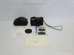 8466 Régi Chinon 35EE analóg fényképezőgép + vaku