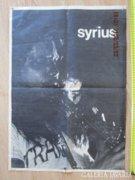 Syrius koncert plakát jelzett kiadóval LEÉRTÉKELTEM