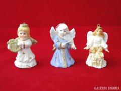 8961 Karácsonyi akasztós angyal 3 darab