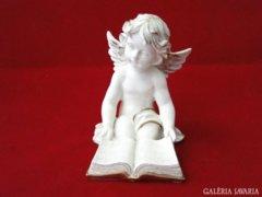 8962 Igényes műgyanta ülő angyal