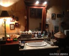 Antik fürdőszoba bútor