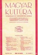 Magyar Kultúra - Társadalmi és Tudományos Szemle 400 Ft