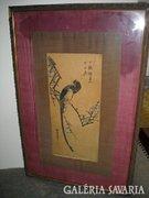 Kinai selyemkép a 30-as évekből