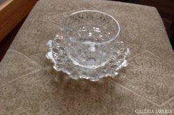 Ólomkristály asztali kínáló