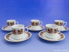 6720 Kínai porcelán kávés készlet 5 személyes