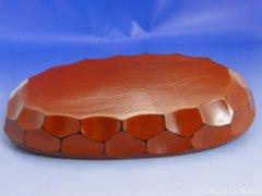 6711 Kínai kínáló fa tál karton dobozában