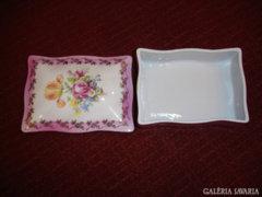 Porcelán - bonbonos, kártyatartó, ékszeres  ( PM német)