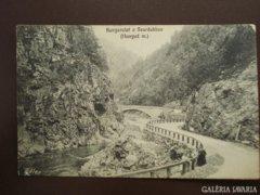 Románia Kanyarulat a szurdokban . Hunyad megye 1913   RK