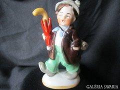 Nagyon régi német porcelán VÁNDORFI M:13 cm