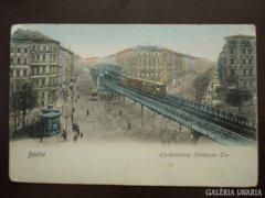 Német Berlin - Hochbahnhof 14  kb 1900     RK