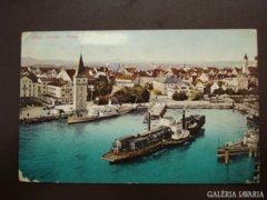 Német  Lindau  001  Hafen   1909     RK