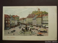 Graz - Hauptplatz     1918     RK