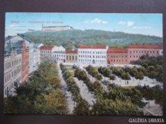 Cseh Brünn 001 Getreidemarkt und Spielberg  1925    RK