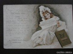 Pesi Napló képeslapl  kb 1902       RK