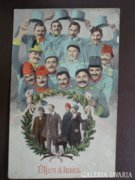 MAGYAR - 1914-1918  VH   csoport kép 1915    RK