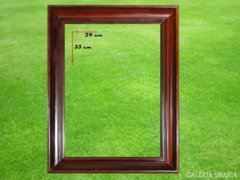 6779 Mahagóni színű képkeret 24 x 33 cm